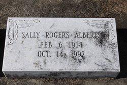 Sally <I>Rogers</I> Alberts