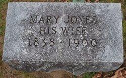 Mary <I>Jones</I> Balcom