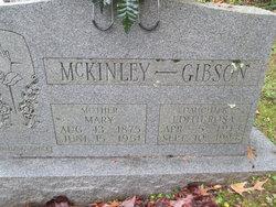 Mary Elizabeth <I>Whitehead</I> McKinley
