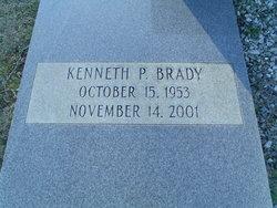 Kenneth P Brady