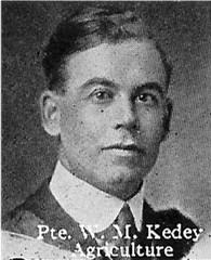 Pvt William Moses Kedey