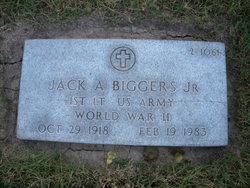 Jack A Biggers, Jr