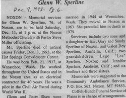 Glenn W. Sperline