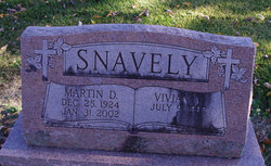 "Martin D. ""Marty"" Snavely"
