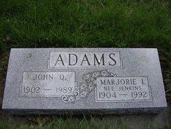 Marjorie I <I>Jenkins</I> Adams