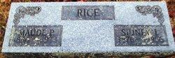 Maude <I>Piercy</I> Rice