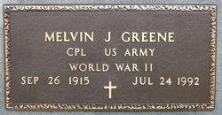 CPL Melvin J Greene