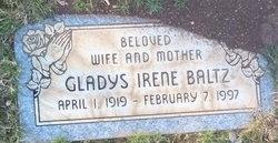 Gladys Irene <I>Van Brocklin</I> Baltz