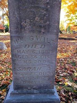 "Sarah ""Sal"" <I>Chiverton</I> Gwilt"