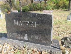 I Kathleen <I>Allen</I> Matzke