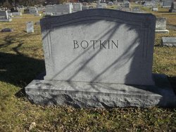 Mary Emma <I>Irvin</I> Botkin