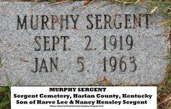 Murphy Sergent