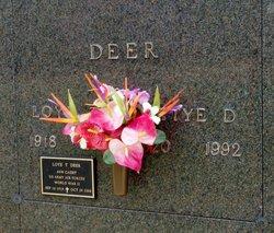Bettye Dean <I>Matlock</I> Deer