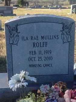 Ila Rae <I>Mullins</I> Rolff