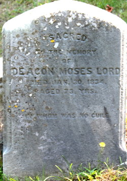 Deacon Moses Lord