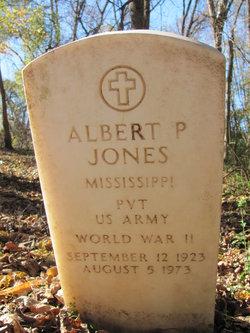 Pvt Albert P. Jones