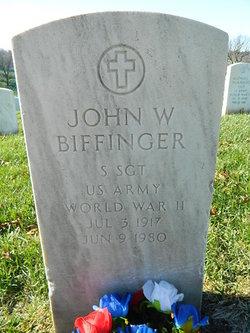 John W Biffinger