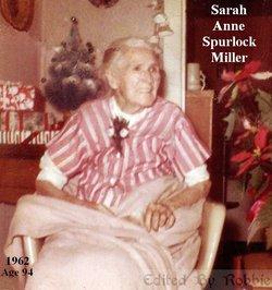 Sarah Ann <I>Spurlock</I> Miller