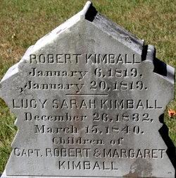 """Robert """"Robbie"""" Kimball"""