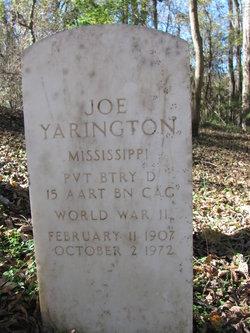 Pvt Joe Yarington