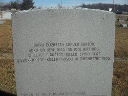 Mary Elizabeth <I>Shaver</I> Burton