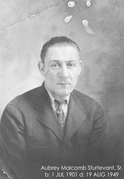 Aubrey M. Sturtevant