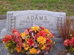 "Cordelia Ann ""Delia"" <I>Means</I> Adams"