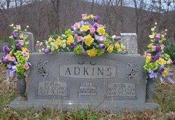 Bertha <I>Marcum</I> Adkins
