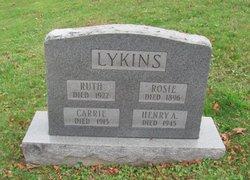 Rosie <I>Blankenship</I> Lykins