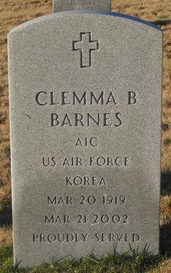 Clemma Bernice Barnes