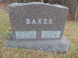 Mildred Elna <I>Harris</I> Baker