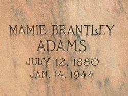 Mamie <I>Brantley</I> Adams