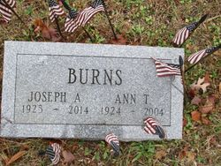 Joseph A Burns