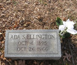 Ada Roy <I>Sutton</I> Ellington