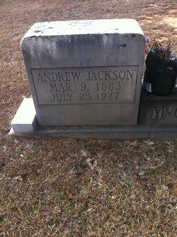 Andrew Jackson McCrory
