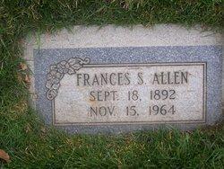 Francis Sara <I>Winegar</I> Allen