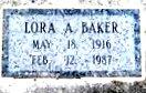 Lora Arlene Baker