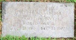 Joseph B Gamble