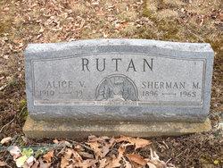 Alice Virginia <I>Hatfeld</I> Rutan