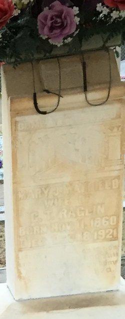 Mary Jane <I>Mayfield</I> Raglin