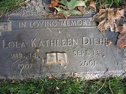 "Lola Kathleen ""Kay"" <I>Enterline</I> Diehl"
