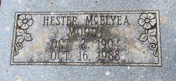 Hester <I>McElyea</I> Moody