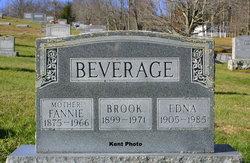 Edna Lee <I>Botkin</I> Beverage