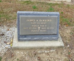 Rev James A. DeWeerd