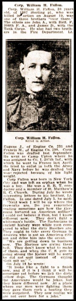 William H Fallon