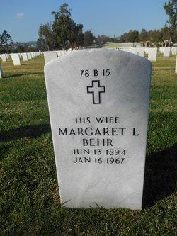 Margaret Mauran <I>Lawrence</I> Behr