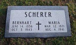 """Bernhart """"Barney"""" Scherer"""