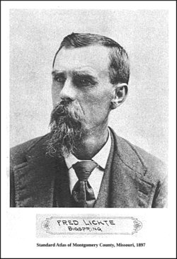 "Johann Carl ""Fred/Fritz"" <I>Frederick</I> Lichte"