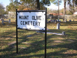 Mount Olive Cemetery Old