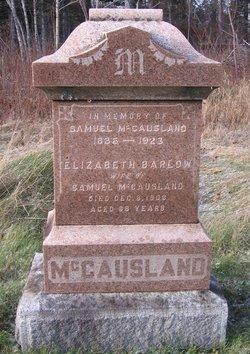 Elizabeth <I>Barlow</I> McCausland